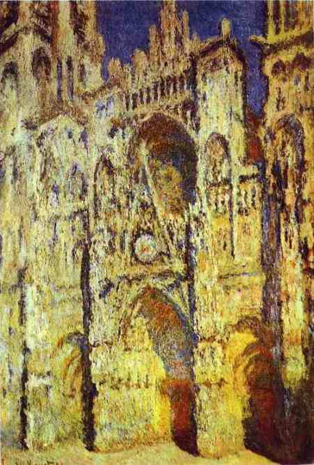 The Rouen Cathedral by Claude Monet (1840-1926, France) | Museum Quality Reproductions | WahooArt.com