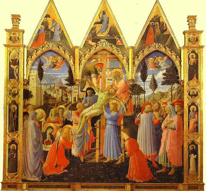 The Deposition by Fra Angelico (1400-1455, Italy) | Art Reproduction | WahooArt.com