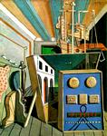 Giorgio De Chirico - Metaphysical Interior with Biscuits