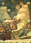 Giotto - Ambrogio Bondone - Legend of St Francis - [14] - Miracle of the Spring