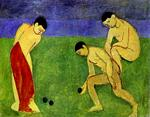 Henri Matisse - A Game of Bowls