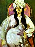 Henri Matisse - Laurette in a White Turban