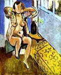 Henri Matisse - Nude, Spanish Carpet