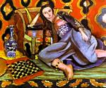 Henri Matisse - Odalisque on a Turkish Sofa