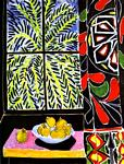 Henri Matisse - The Egyptian Curtain