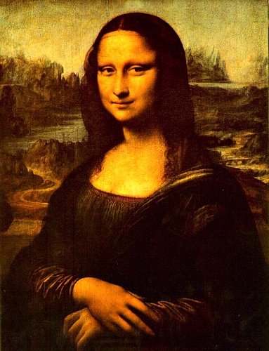 'Mona Lisa', Oil by Leonardo Da Vinci (1452-1519, Italy)