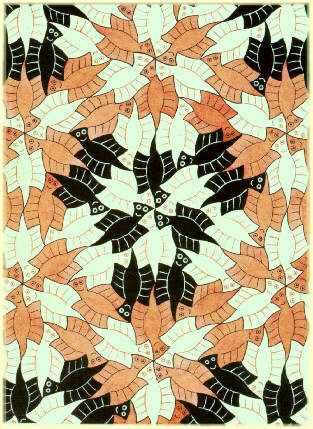 'E92', Lithography by Maurits Cornelis Escher (1898-1972, Netherlands)