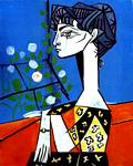 Pablo Picasso - Jacqueline with Flowers