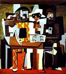 Pablo Picasso - Three Musicians, or Musicians in Masks