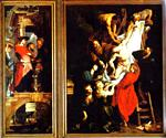 Peter Paul Rubens - The Descent from the Cross (Left)