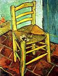 Vincent Van Gogh - Vincent-s Chair with His Pipe