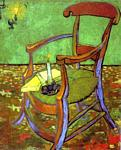 Vincent Van Gogh - Gauguin-s Chair with Books and Candle