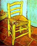 Vincent Van Gogh - Vincent-s Chair with Pipe