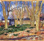 Vincent Van Gogh - Avenue of Plane Trees near Arles Station
