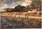 Vincent Van Gogh - Banks of the Seine, The