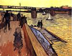 Vincent Van Gogh - Bridge at Trinquetaille, The