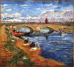 Vincent Van Gogh - Gleize Bridge over the Vigueirat Canal, The