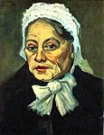 Vincent Van Gogh - Head of an Old Woman with White Cap