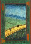 Vincent Van Gogh - Japonaiserie Bridge in the Rain after Hiroshige
