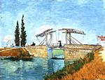 Vincent Van Gogh - Langlois Bridge at Arles, The 2