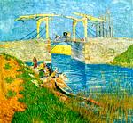 Vincent Van Gogh - Langlois Bridge at Arles, The