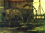 Vincent Van Gogh - Water Mill at Gennep 3