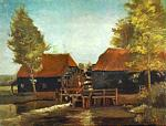 Vincent Van Gogh - Water Mill at Kollen Near Nuenen