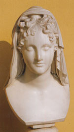 Busto di Beatrice by Antonio Canova (1757-1822, Italy) | Famous Paintings Reproductions | WahooArt.com