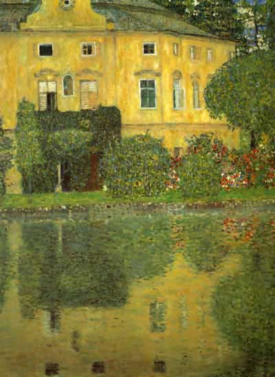 Schlob Kammer on the Attersee IV, 1910 - Rome, Galleria Nazionale d`Arte Moderna by Gustav Klimt (1862-1918, Austria) | Painting Copy | WahooArt.com
