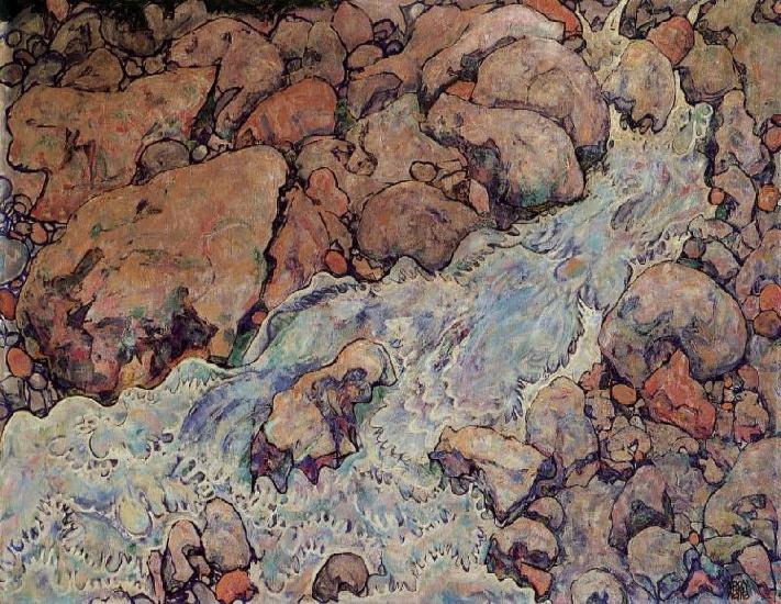 Egon Schiele Reproductions Fine Art Print The Dead Mother l