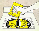 Roy Lichtenstein - Washing machine (1961)