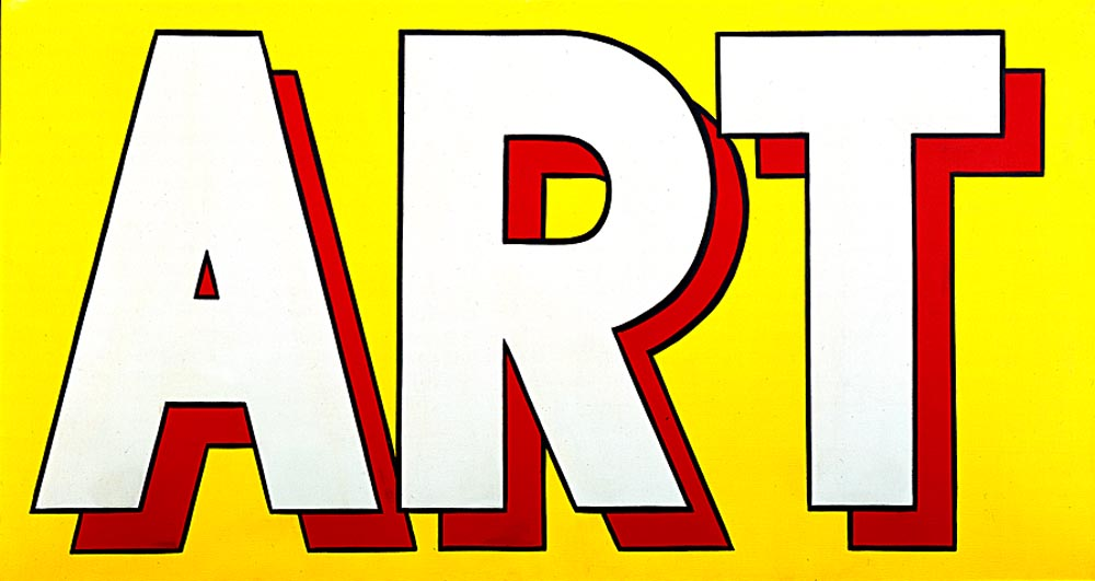 Art (1962) by Roy Lichtenstein (1923-1997, United States) | Art Reproduction | WahooArt.com