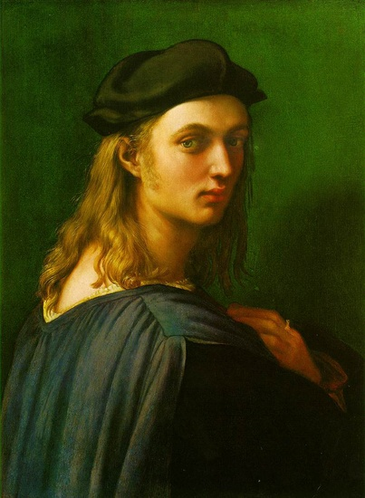 'Portrait of Bindo Altoviti', Oil by Raphael - Raffaello Sanzio (1483-1520, Italy)