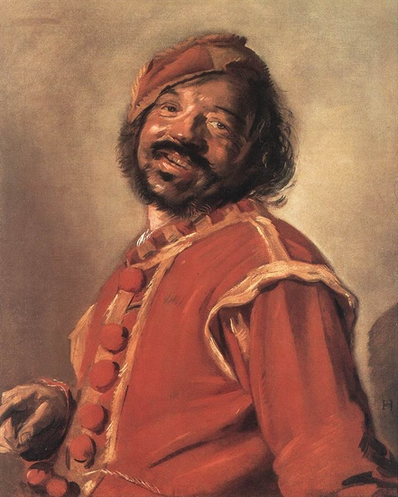 'Mulatto', Oil by Frans Hals (1580-1666, Belgium)