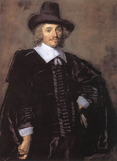 'Portrait of a Man8', Oil by Frans Hals (1580-1666, Belgium)