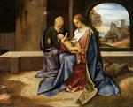 Giorgione - Giorgio Barbarelli - The Holy Family