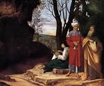 Giorgione - Giorgio Barbarelli - The Three Philosophers