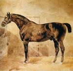 Théodore Géricault - English Horse in Stable