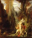 Order Painting Copy : Dejanira (Autumn) by Gustave Moreau (1826-1898, France) | WahooArt.com