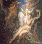 Gustave Moreau - Leda and the Swan