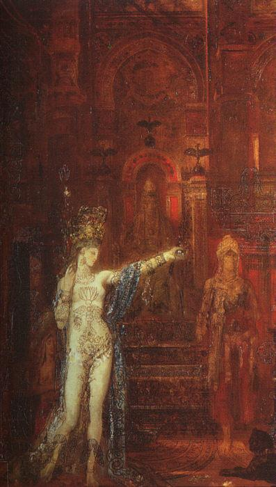 'Salome', Oil by Gustave Moreau (1826-1898, France)