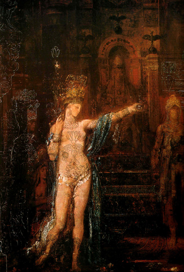 'Salomé', Oil by Gustave Moreau (1826-1898, France)