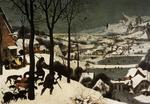Pieter Bruegel The Elder - The Hunters in the Snow (January)