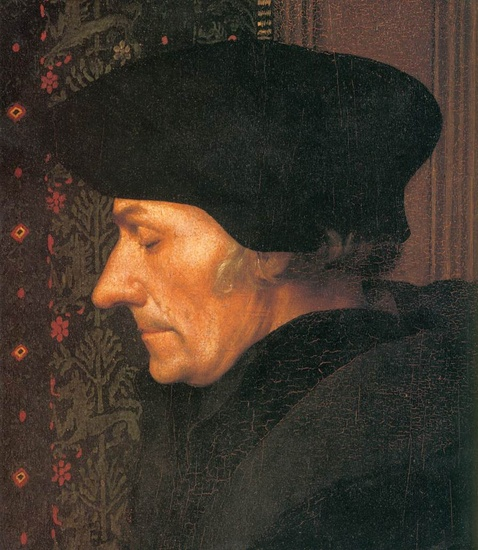 Erasmus (detail) by Hans Holbein The Younger (1497-1543, Germany) | Famous Paintings Reproductions | WahooArt.com