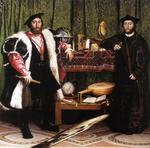Hans Holbein The Younger - Jean de Dinteville and Georges de Selve (`The Ambassadors')