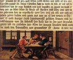Hans Holbein The Younger - Signboard for a Schoolmaster
