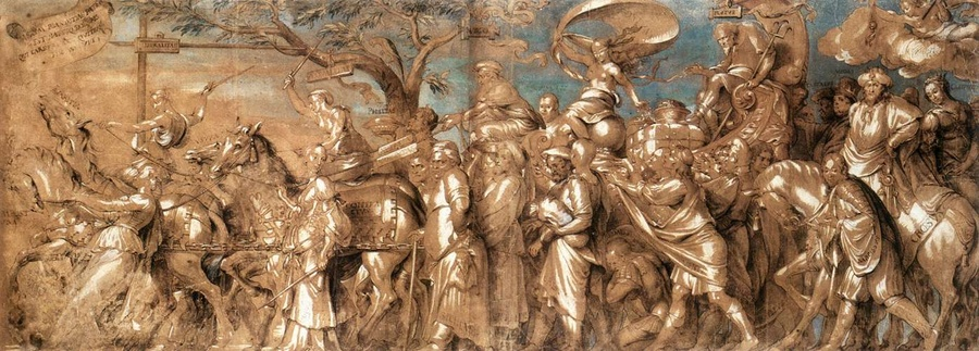 The Triumph of Riches by Hans Holbein The Younger (1497-1543, Germany) | Painting Copy | WahooArt.com