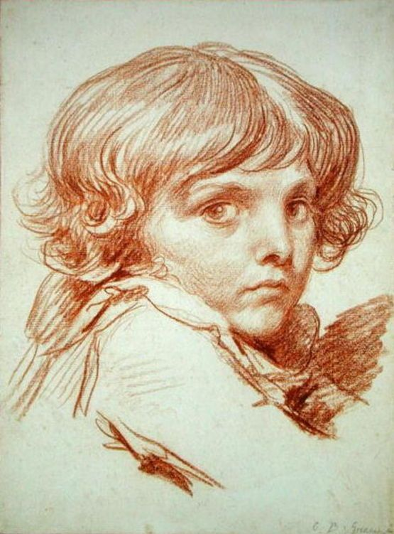 Portrait of a Young Boy by Claude Lorrain (1600-1682, France) | Painting Copy | WahooArt.com