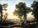 Claude Lorrain - Baroque - Village -