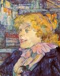 Henri De Toulouse-Lautrec - The English Barmaid at the Star in Le Havre